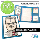 Thurgood Marshall Important People Research Lapbook