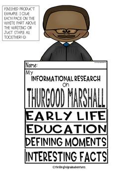 Thurgood Marshall- Informational Writing