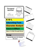 Thurgood Marshall  Flip Book - Research Project