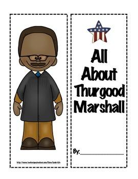 Thurgood Marshall Lapbook