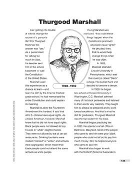 Thurgood Marshall (Lexile 860)