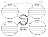 Thurgood Marshall: Main Idea, KWL Chart, Reading Comprehension