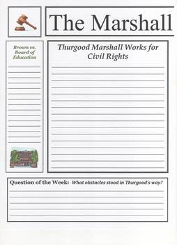 Thurgood Marshall Newspaper
