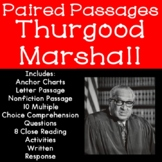 Thurgood Marshall Paired Passages for Reading Comprehension