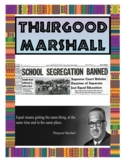 Thurgood Marshall Poster - Famous African American/Black History