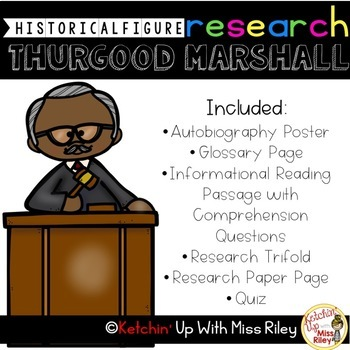 Thurgood Marshall Research Packet