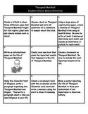 Thurgood Marshall - Student Choice Board
