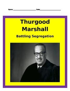 Thurgood Marshall Study Guide- 3rd Grade Social Studies
