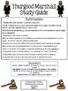 Thurgood Marshall Study Guide