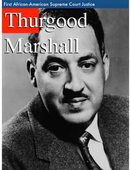 Thurgood Marshall Writing Pages **FREEBIE**