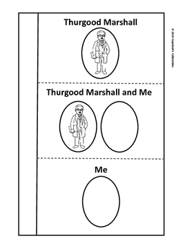 Thurgood Marshall's Interactive Notebook Pages