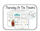 Thursday At The Theatre: I Spy Game + Worksheet for /TH/