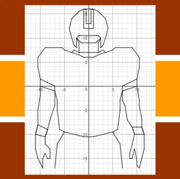 Thursday Morning Quarterback - A Math-Then-Graph Activity - Solve 2-Step Eqs