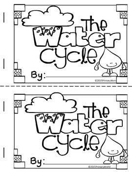 Water Cycle Mini Book and Posters