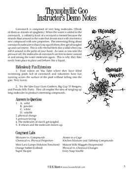 Thyxophyllic Goo (Chemistry)