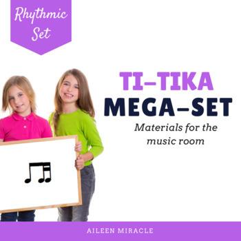 Songs, Activities, and Games to Teach Ti-Tika/ Ti-Tiri {Bundle}