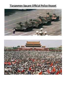 Tiananmen Square Investigation Project