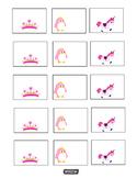 Tiara, Unicorn, Pink Penguin Name tags, Labels, Charts, & Bulletin Boards