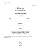 Tiburón - 1st Year String