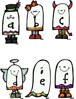 Tic-Tac-BOO! Word Work Choice Boards (Halloween theme)