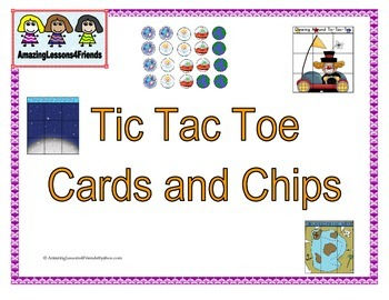 Tic Tac Cards and Chips