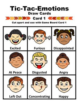Tic-Tac-Emotions Game