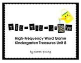 Tic-Tac-Grow High Frequency Word Game Kindergarten Treasur