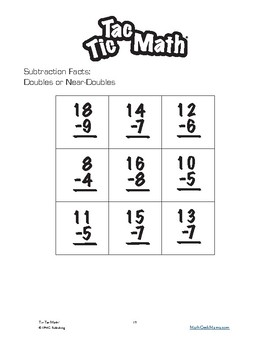 Tic Tac Math: Variety Game Collection