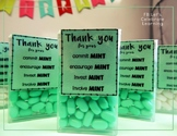Tic Tac Mint. Gift for parents, volunteers, and other teachers!