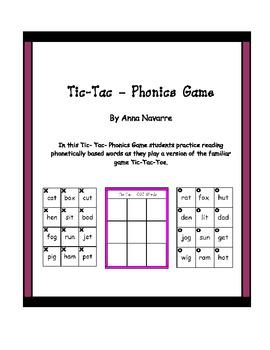 Tic-Tac-Phonics Game