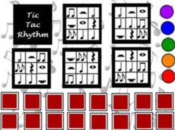 Tic Tac Rhythm Game