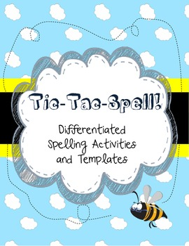 Tic-Tac-Spell Differentiated Spelling Challenge Program
