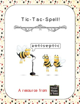 Tic-Tac-Spell (Lessons for Differentiated Instruction)