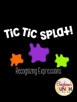 Tic Tac Splat! Recognizing Expressions