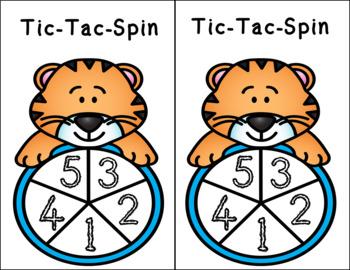 Tic-Tac-Subitize