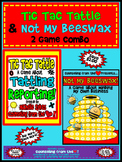 Tic Tac Tattle & Not My Beeswax: 2 Game Combo