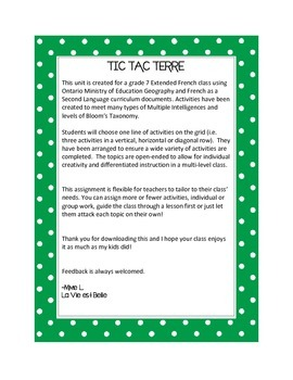 Tic Tac Terre