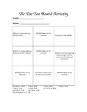Tic Tac Think Board