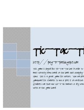 Tic-Tac-Time
