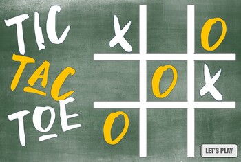 Tic Tac Toe Power Point Template