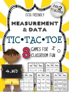 Tic-Tac-Toe (4.MD) - The Timeless Game with a Mathematical Twist!