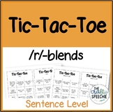 Tic-Tac-Toe: A sentence-level articulation activity for /r/-clusters