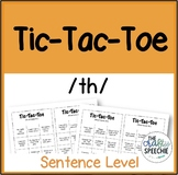 Tic-Tac-Toe: A sentence-level articulation activity for /th/