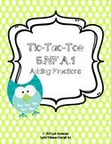 Tic Tac Toe Adding Fractions