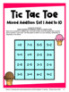 Addition Facts Tic Tac Toe Addition Games