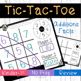Tic-Tac-Toe: Addition Fluency