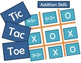 Tic-Tac-Toe Addition Skills