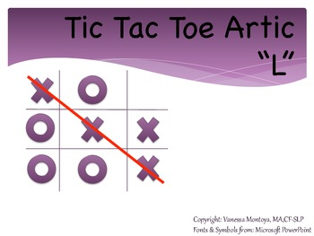 "Tic Tac Toe Artic- ""L"" Edition"