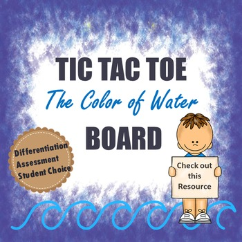 Tic Tac Toe Board for The Color of Water Novel