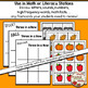 Three in a Row Game (Fall, Halloween, Harvest) Literacy/Math Stations